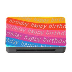 Colorful Happy Birthday Wallpaper Memory Card Reader With Cf by Simbadda