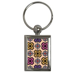 Abstract Seamless Background Pattern Key Chains (rectangle)