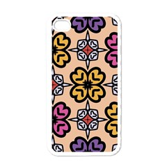 Abstract Seamless Background Pattern Apple Iphone 4 Case (white) by Simbadda