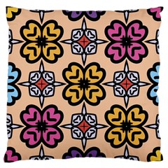 Abstract Seamless Background Pattern Large Cushion Case (one Side)
