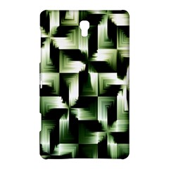 Green Black And White Abstract Background Of Squares Samsung Galaxy Tab S (8 4 ) Hardshell Case