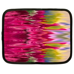 Abstract Pink Colorful Water Background Netbook Case (large) by Simbadda