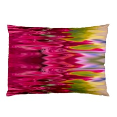 Abstract Pink Colorful Water Background Pillow Case by Simbadda