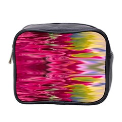 Abstract Pink Colorful Water Background Mini Toiletries Bag 2 Side by Simbadda