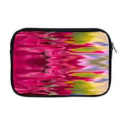 Abstract Pink Colorful Water Background Apple Macbook Pro 17  Zipper Case by Simbadda