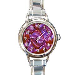 Passion Candy Sensual Abstract Round Italian Charm Watch by Simbadda