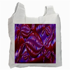 Passion Candy Sensual Abstract Recycle Bag (two Side)