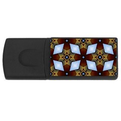 Abstract Seamless Background Pattern Usb Flash Drive Rectangular (4 Gb) by Simbadda