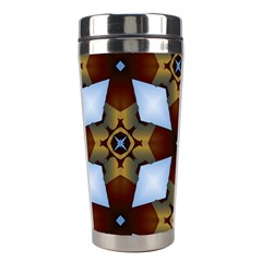 Abstract Seamless Background Pattern Stainless Steel Travel Tumblers by Simbadda