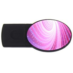 Vortexglow Abstract Background Wallpaper Usb Flash Drive Oval (2 Gb) by Simbadda
