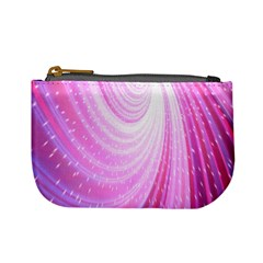 Vortexglow Abstract Background Wallpaper Mini Coin Purses