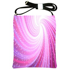 Vortexglow Abstract Background Wallpaper Shoulder Sling Bags by Simbadda