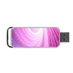 Vortexglow Abstract Background Wallpaper Portable Usb Flash (one Side) by Simbadda