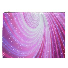 Vortexglow Abstract Background Wallpaper Cosmetic Bag (xxl)  by Simbadda