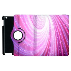 Vortexglow Abstract Background Wallpaper Apple Ipad 3/4 Flip 360 Case by Simbadda