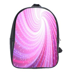 Vortexglow Abstract Background Wallpaper School Bags (xl)