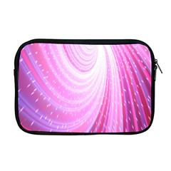 Vortexglow Abstract Background Wallpaper Apple Macbook Pro 17  Zipper Case by Simbadda