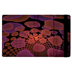 Heart Invasion Background Image With Many Hearts Apple Ipad 2 Flip Case by Simbadda