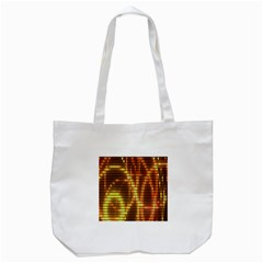 Circle Tiles A Digitally Created Abstract Background Tote Bag (white) by Simbadda