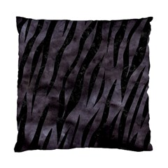 Skin3 Black Marble & Black Watercolor (r) Standard Cushion Case (two Sides) by trendistuff