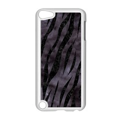 Skin3 Black Marble & Black Watercolor (r) Apple Ipod Touch 5 Case (white) by trendistuff