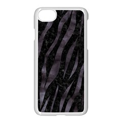 Skin3 Black Marble & Black Watercolor Apple Iphone 7 Seamless Case (white) by trendistuff
