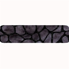 Skin1 Black Marble & Black Watercolor Large Bar Mat by trendistuff