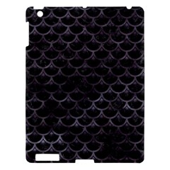 Sca3 Bk Mrbl Bk Wclr Apple Ipad 3/4 Hardshell Case by trendistuff
