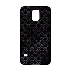 Scales2 Black Marble & Black Watercolor Samsung Galaxy S5 Hardshell Case  by trendistuff