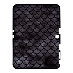 Scales1 Black Marble & Black Watercolor (r) Samsung Galaxy Tab 4 (10 1 ) Hardshell Case  by trendistuff