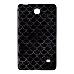 Scales1 Black Marble & Black Watercolor Samsung Galaxy Tab 4 (7 ) Hardshell Case  by trendistuff
