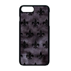 Royal1 Black Marble & Black Watercolor Apple Iphone 7 Plus Seamless Case (black) by trendistuff