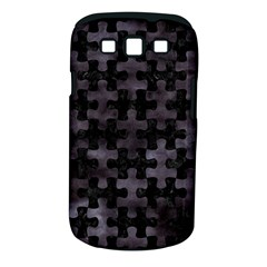 Puzzle1 Black Marble & Black Watercolor Samsung Galaxy S Iii Classic Hardshell Case (pc+silicone) by trendistuff