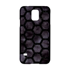 Hexagon2 Black Marble & Black Watercolor (r) Samsung Galaxy S5 Hardshell Case  by trendistuff