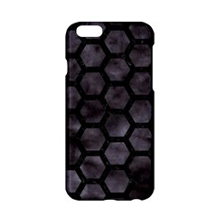 Hexagon2 Black Marble & Black Watercolor (r) Apple Iphone 6/6s Hardshell Case by trendistuff