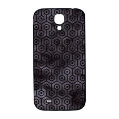 Hexagon1 Black Marble & Black Watercolor (r) Samsung Galaxy S4 I9500/i9505  Hardshell Back Case by trendistuff