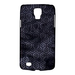 Hexagon1 Black Marble & Black Watercolor (r) Samsung Galaxy S4 Active (i9295) Hardshell Case by trendistuff