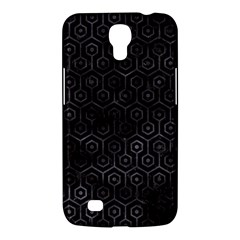 Hexagon1 Black Marble & Black Watercolor Samsung Galaxy Mega 6 3  I9200 Hardshell Case by trendistuff