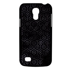 Hexagon1 Black Marble & Black Watercolor Samsung Galaxy S4 Mini (gt I9190) Hardshell Case  by trendistuff