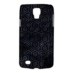 Hexagon1 Black Marble & Black Watercolor Samsung Galaxy S4 Active (i9295) Hardshell Case by trendistuff