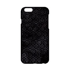 Hexagon1 Black Marble & Black Watercolor Apple Iphone 6/6s Hardshell Case by trendistuff