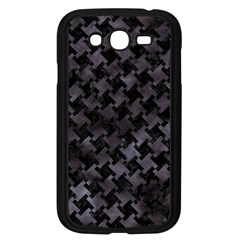 Houndstooth2 Black Marble & Black Watercolor Samsung Galaxy Grand Duos I9082 Case (black) by trendistuff