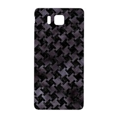 Houndstooth2 Black Marble & Black Watercolor Samsung Galaxy Alpha Hardshell Back Case by trendistuff