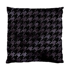 Houndstooth1 Black Marble & Black Watercolor Standard Cushion Case (one Side) by trendistuff