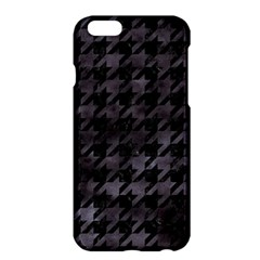 Houndstooth1 Black Marble & Black Watercolor Apple Iphone 6 Plus/6s Plus Hardshell Case by trendistuff
