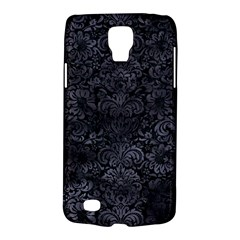 Damask2 Black Marble & Black Watercolor Samsung Galaxy S4 Active (i9295) Hardshell Case by trendistuff