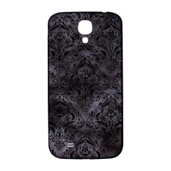 Damask1 Black Marble & Black Watercolor (r) Samsung Galaxy S4 I9500/i9505  Hardshell Back Case by trendistuff