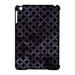 Circles3 Black Marble & Black Watercolor Apple Ipad Mini Hardshell Case (compatible With Smart Cover) by trendistuff