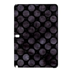 Circles2 Black Marble & Black Watercolor Samsung Galaxy Tab Pro 10 1 Hardshell Case by trendistuff