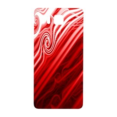 Red Abstract Swirling Pattern Background Wallpaper Samsung Galaxy Alpha Hardshell Back Case by Simbadda